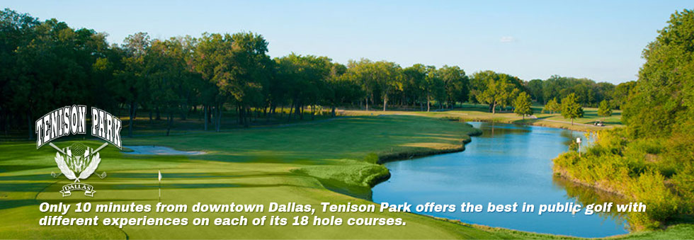 Tenison Park - Only 10 minutes from downtown Dallas, Tenison Park offers the best in public golf wit