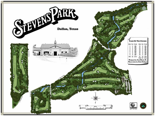 Course Layouts | Dallas Golf, TX - Official Website