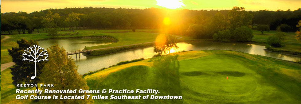 Keeton Park - Recently renovated greens and practice facility - Golf course is located 7 miles south